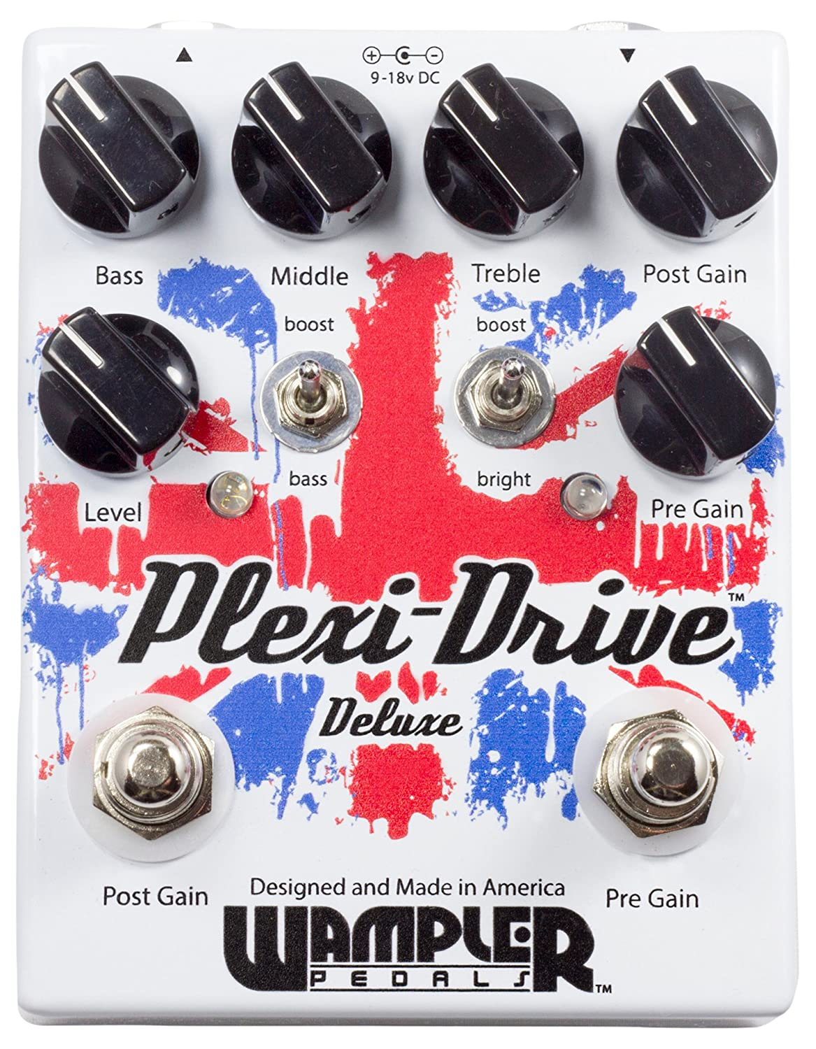 Wampler Plexi Drive Deluxe Guitar Effects Pedal Musical 147 Pedals Simple Tone Control Brian May Treble Booster Instruments Stage Studio
