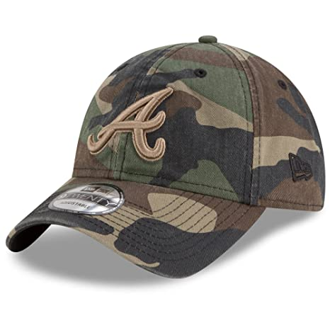quality design 63076 d849e ... ireland atlanta braves new era tonal core classic 9twenty adjustable  hat camo 95d0f 15514