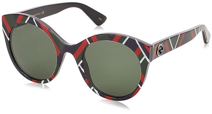 Gucci GG0028S 010, Gafas de Sol para Mujer, (Multicolor/Green),