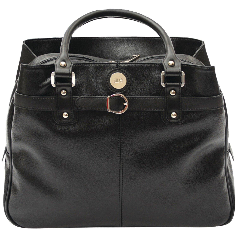 jill-e Designs e-goレザーキャリアバッグ One Size ブラック 373595 B00792T706 ブラック
