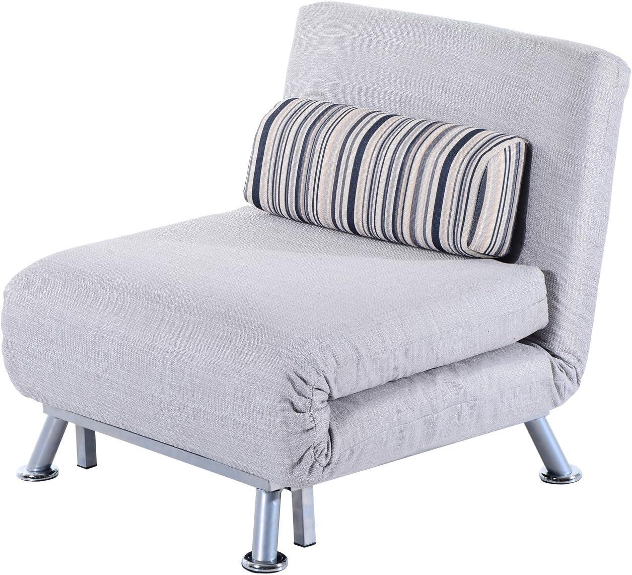 - HOMCOM Fold Out Futon Single Sofa Bed: Amazon.co.uk: Kitchen & Home