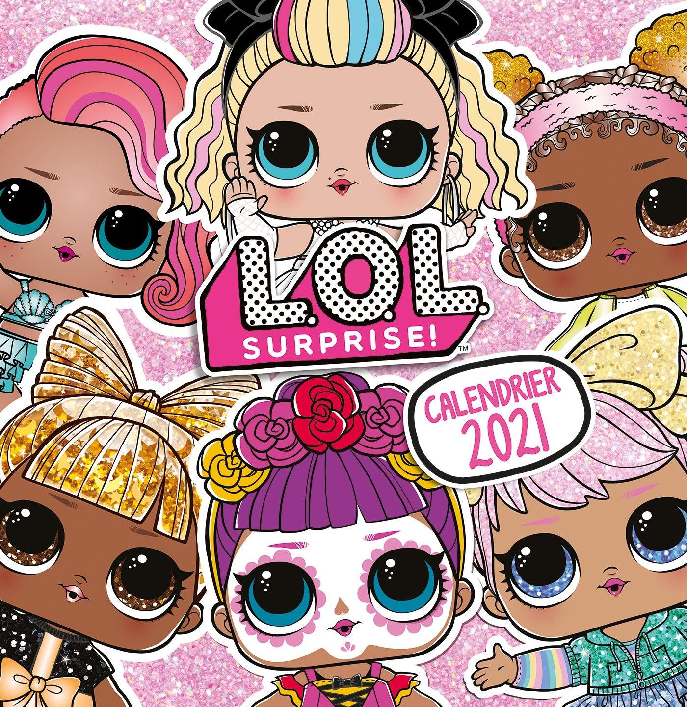 L.O.L. Surprise!   Calendrier 2020 2021: 9782017131502: Amazon.