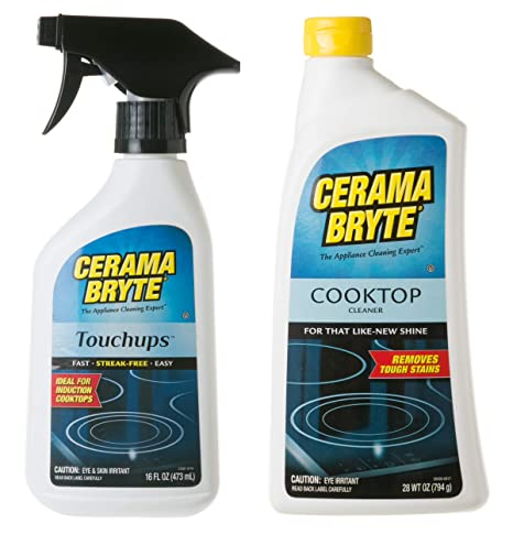 Amazon.com: Cerama Bryte Glass-Ceramic Cooktop Cleaning ...