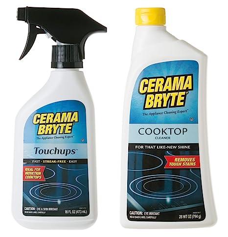Amazon.com: Cerama Bryte Glass-Ceramic Cooktop Cleaning ...