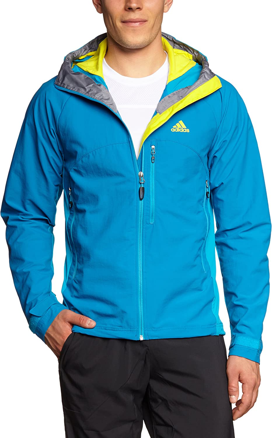 adidas Herren Jacke Hiking Trekking Lite Hooded Soft Shell