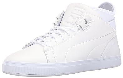 PUMA Men's Play PRM Fashion Sneaker, White, ...