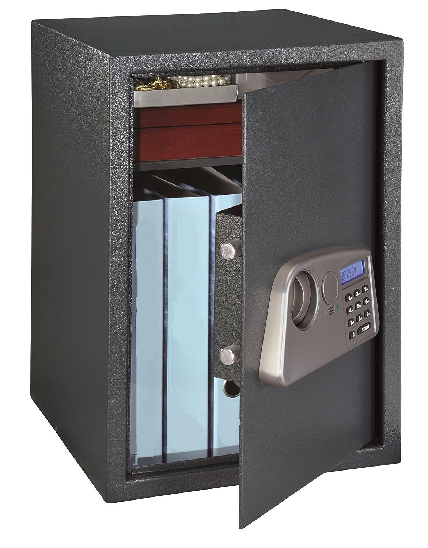 HomeDesign Safe HDS-7300 Möbeltresor, Elektronikschloss, Safe, Hoteltresor, Code-Umstellmöglichkeiten, Notöffnung