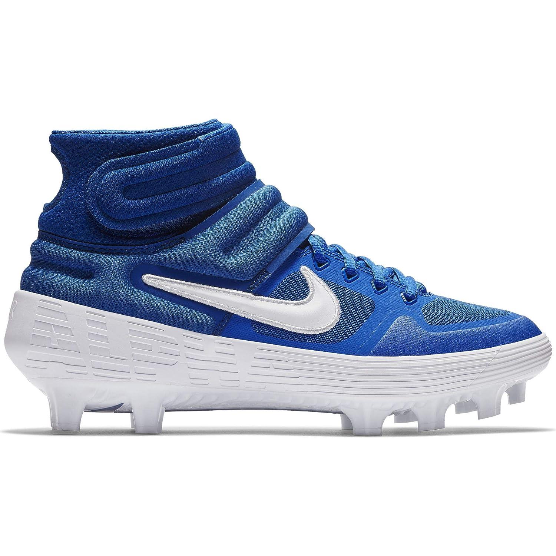 buy popular a97b9 a332f Amazon.com   Nike Men s Alpha Huarache Elite 2 Mid MCS Molded Baseball  Cleat   Baseball   Softball