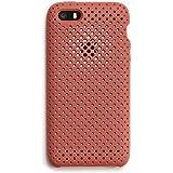 AndMesh iPhone SE ケース/5S メッシュケース 耐衝撃 | テラコッタ AMMSC501-TRD