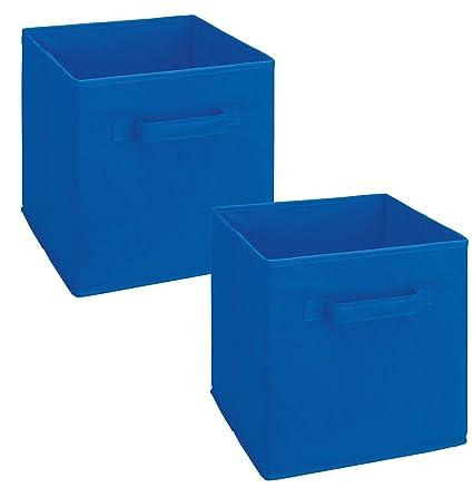 ClosetMaid 18699 Cubeicals Fabric Drawer, Royal Blue, 2 Pack