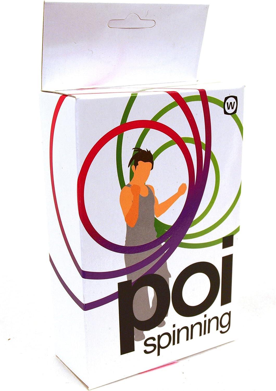Poi Spinning - The Maori Hand Spinning Performance Art: Amazon.es ...