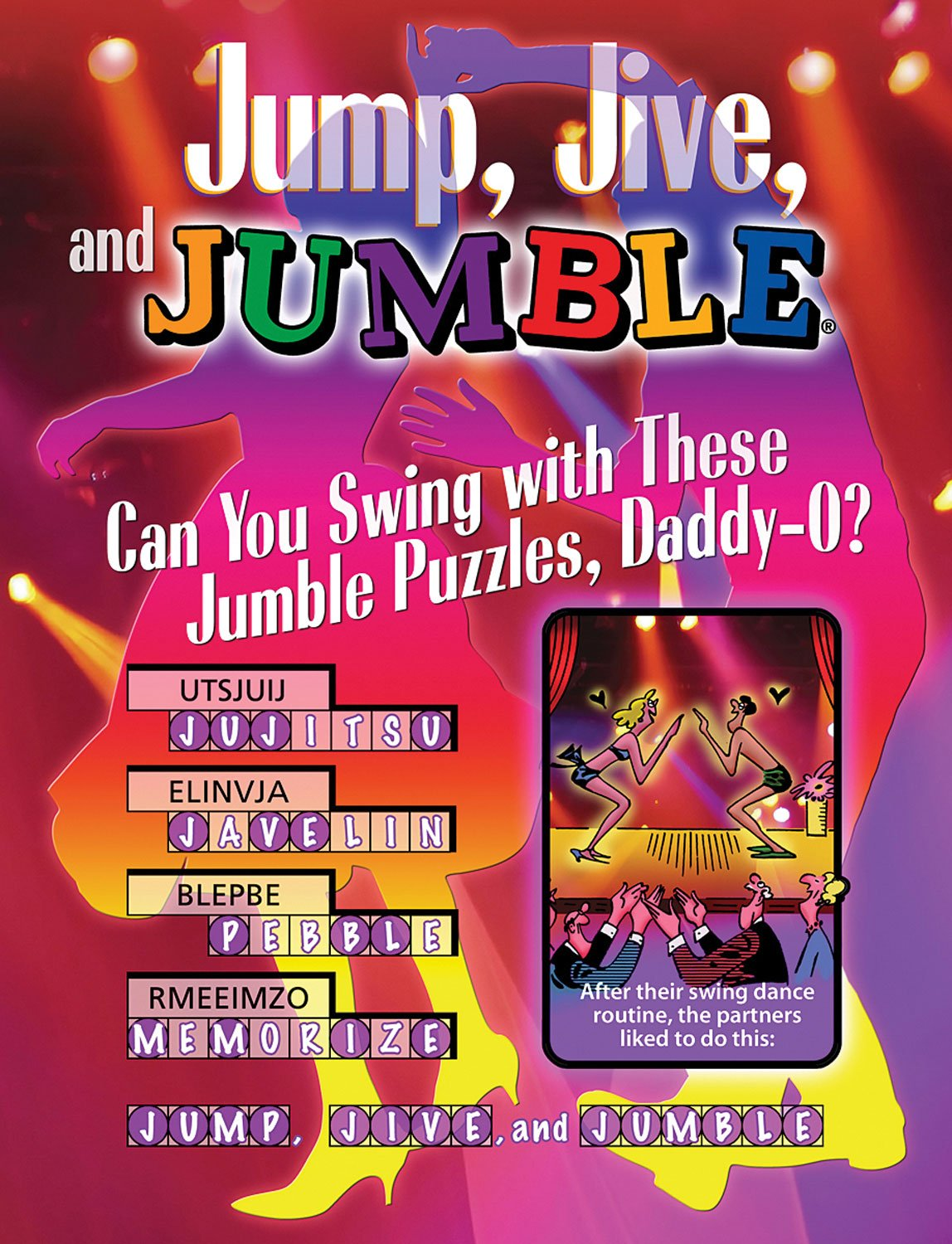Jump, Jive, and Jumble®: Can You Swing with These Jumble® Puzzles, Daddy-O? (Jumbles®) PDF