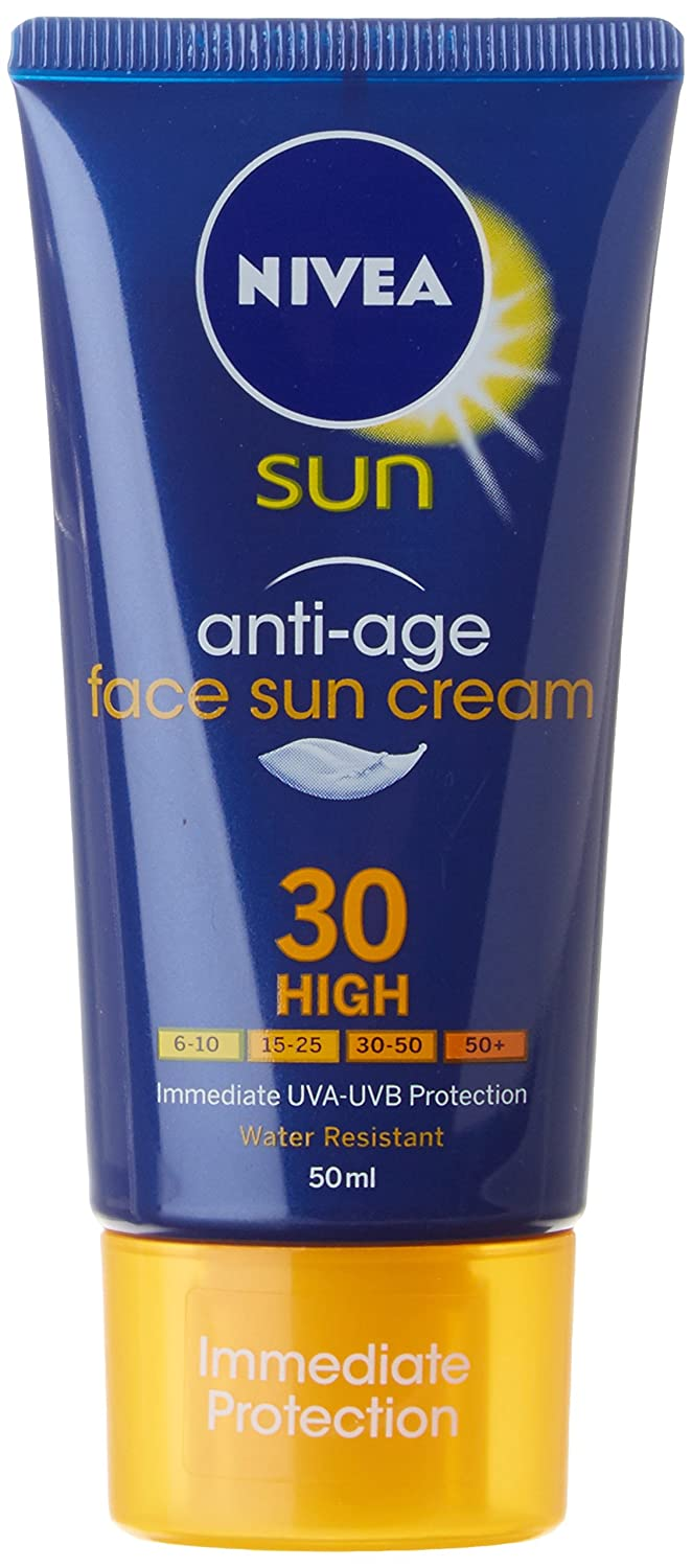 Nivea Anti-Age Protection Face Sun Cream Number 30, High 50 ml 72669-02954-00