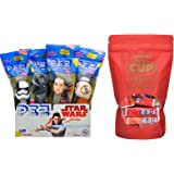 STAR WARS Pez Dispensers (Pack of 12) with 1/2 pound of PEZ Candy Refills