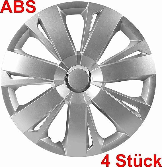 Universal Radzierblende Radkappe Silber 16 Zoll Für Viele Fahrzeuge Passend Auto