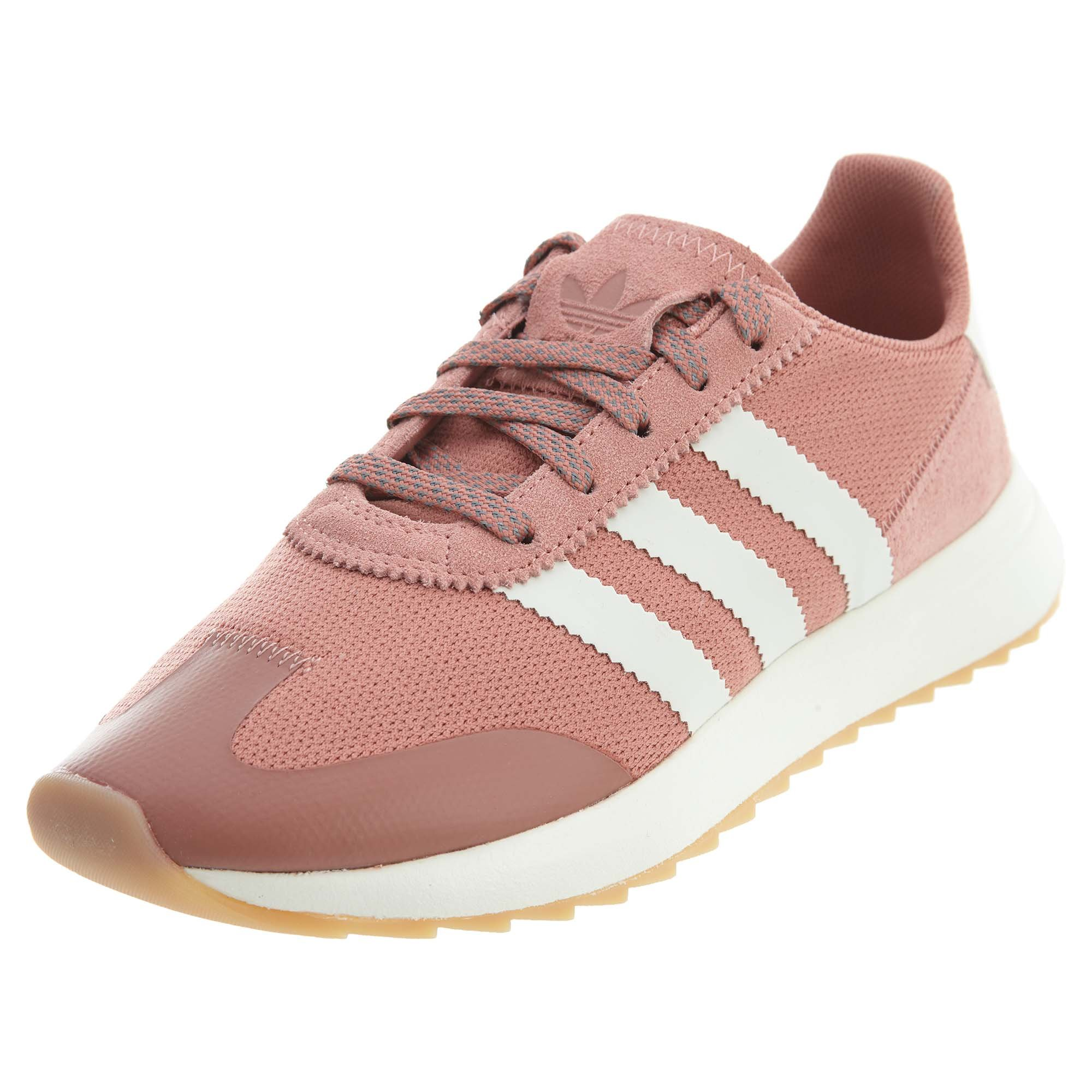 select for official new lower prices promotion adidas Originals Women's FLB W Sneaker, RAW Pink Crystal White, 10 Medium US