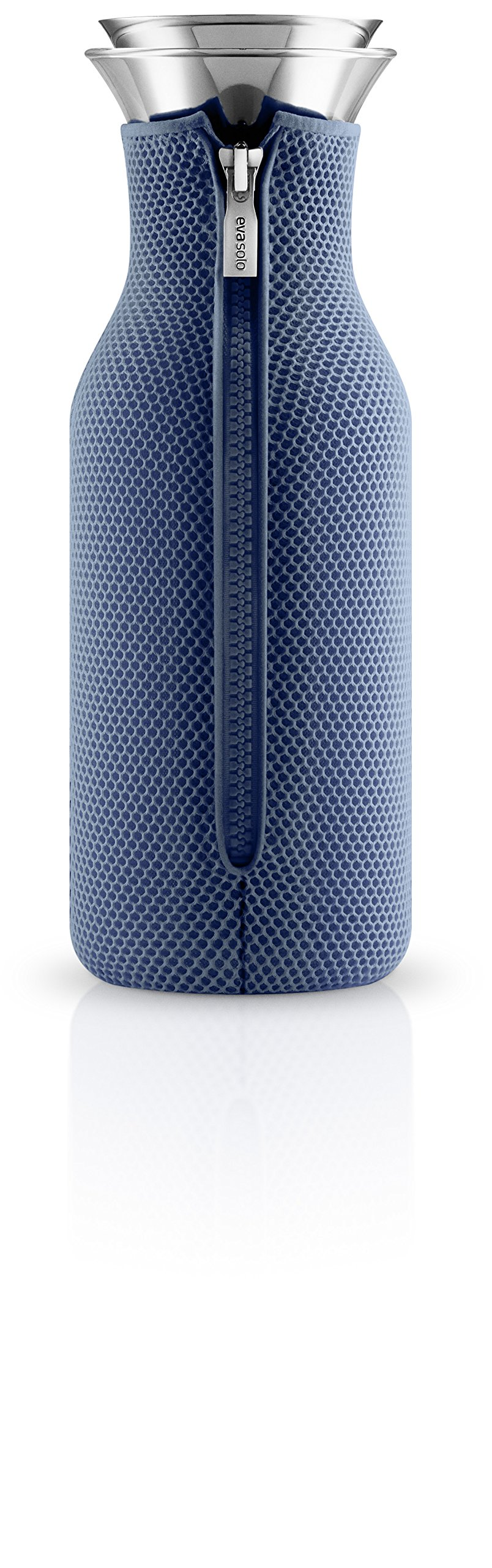 Eva Solo Fridge Carafe with 3D cover 1.0L (Moonlight Blue) by Eva Solo