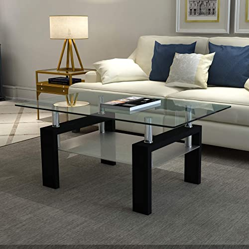 Meihua Glass Coffee Table