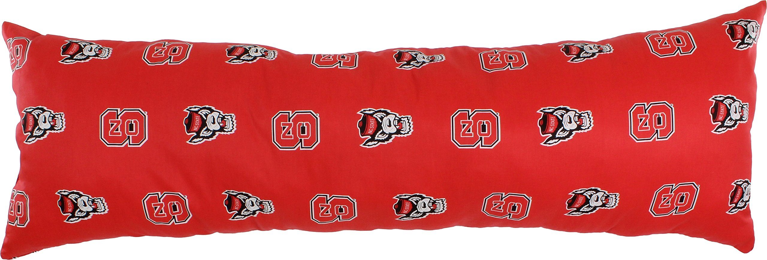College Covers North Carolina State Wolfpack Printed Body Pillow, 20'' x 60''