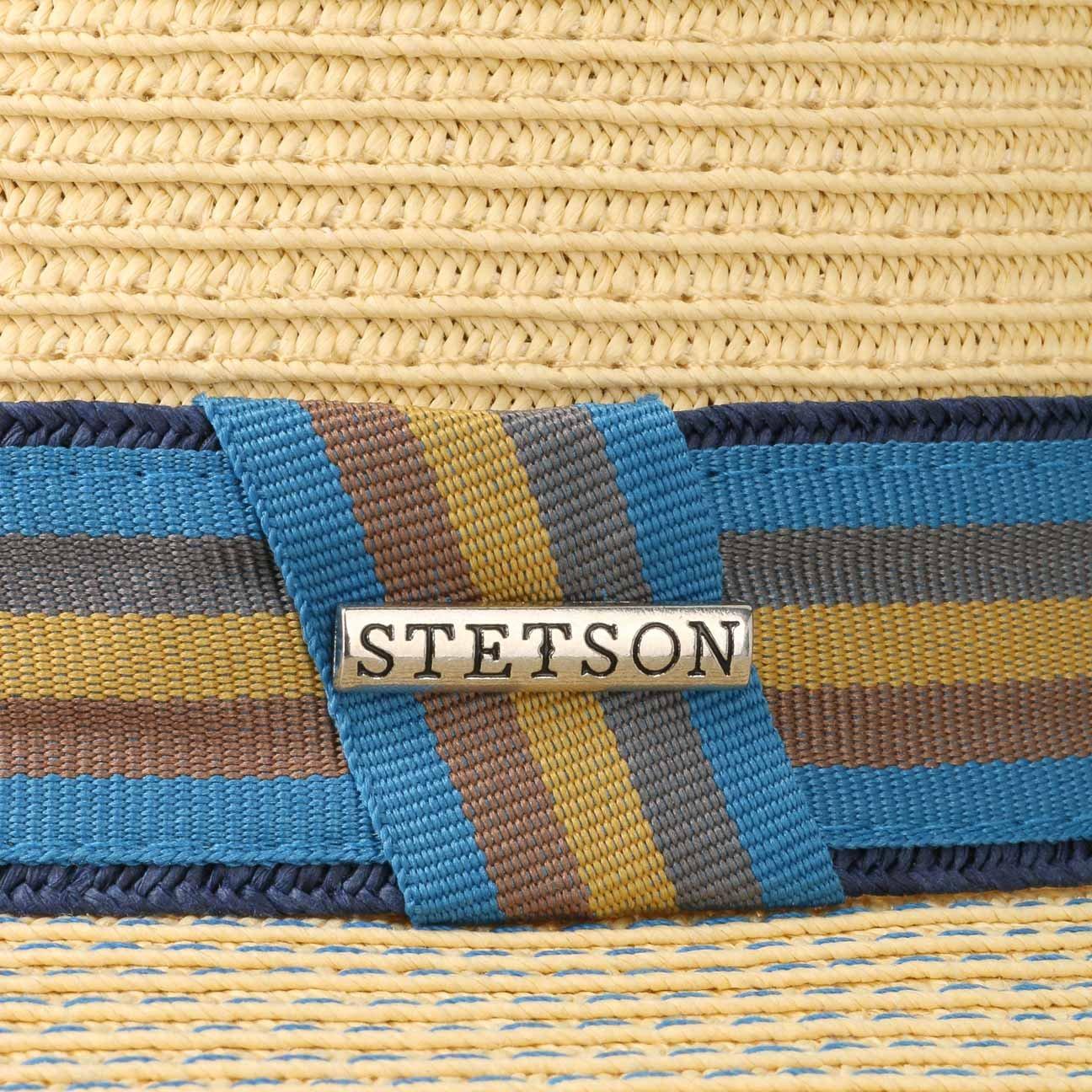 Stetson Mens Toyo Straw Traveller Fedora Beige