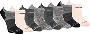 Saucony womens Performance Super Lite No-show Athletic Running Socks Multipack