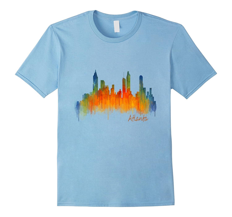 Atlanta Georgia Skyline Souvenir T-Shirt-PL