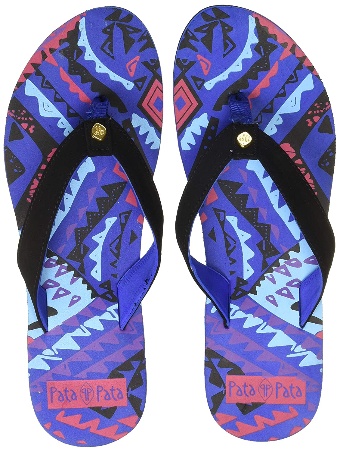 b68e49922a4 Sunshine Women s Aztec Slippers  Buy Online at Low Prices in India -  Amazon.in