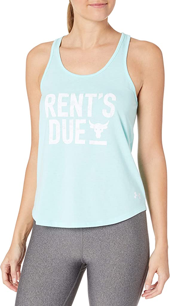 Under Armour Girls Step It Up Muscle Tank