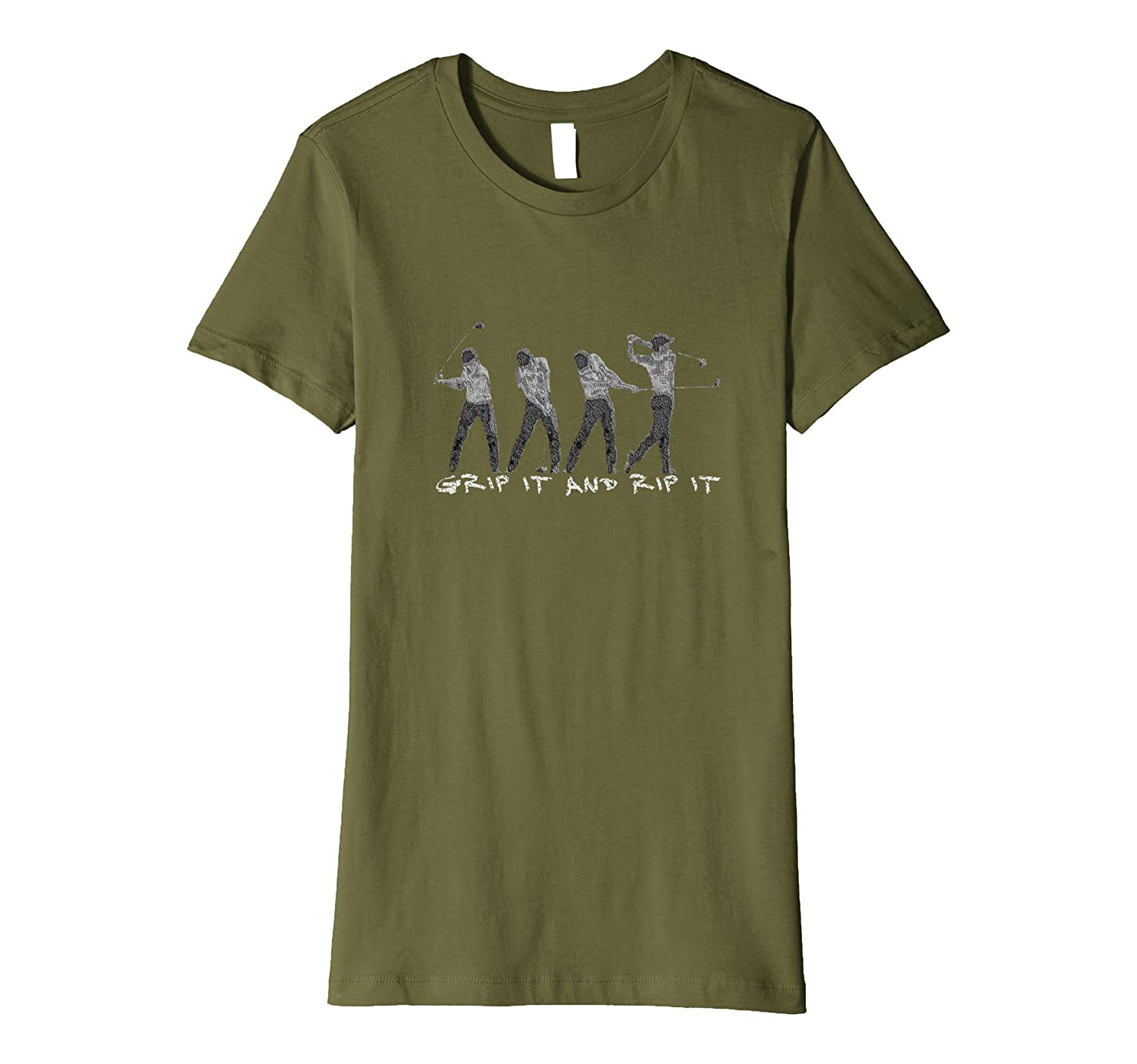 Grip It and Rip It – Funny Golf Saying T-shirt for Golfers
