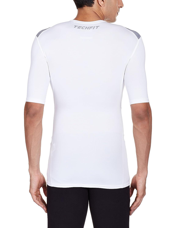 Adidas g90144?Techfit Base Men's Short-Sleeved T-Shirt