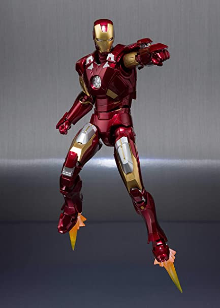SH Figuarts IRON MAN Mk 5 /& Hall Of Armor Set Bandai
