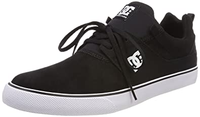DC Heathrow Vulc Shoes 11 D(M) US Black/White