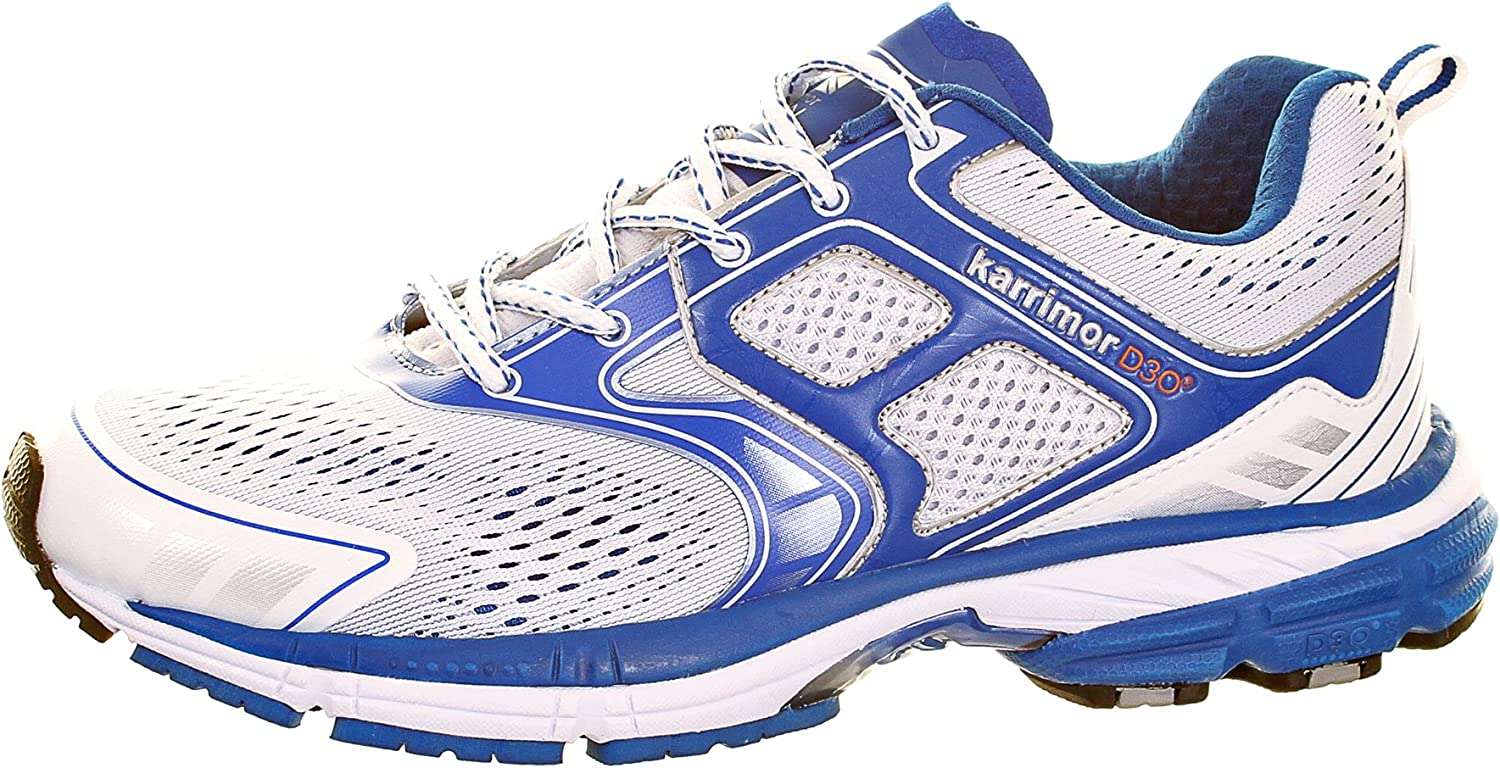 Karrimor D30 Excel Mens Running Shoes - White - EU 39: Amazon.es: Deportes y aire libre