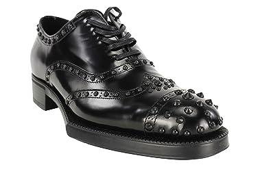 3625028115f6 Prada Spazzolato Black Women's Shoes, 38.5: Amazon.co.uk: Shoes & Bags