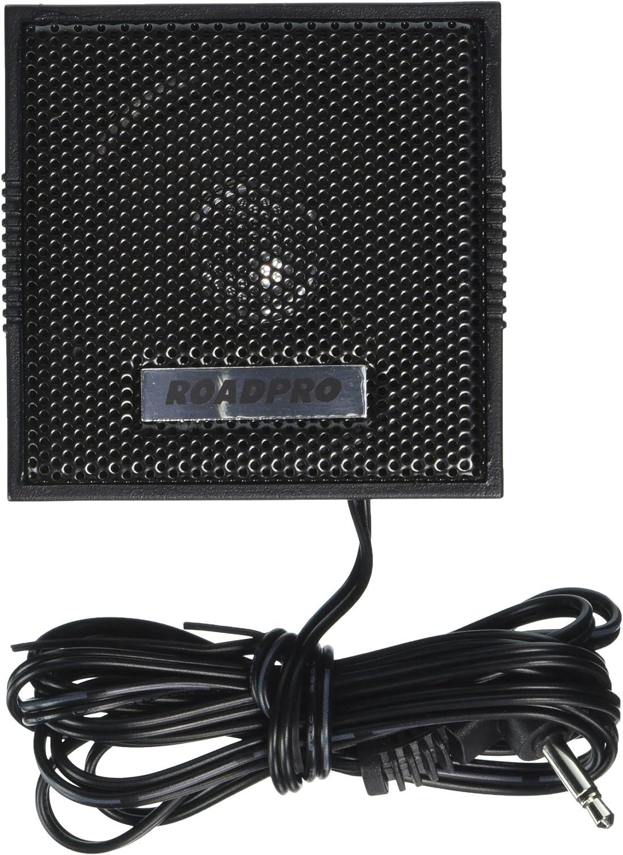 RoadPro RP-102C 2-1//2 5W Visor Mount CB Extension Speaker