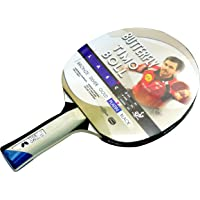 Butterfly Timo Boll Platinum - Pala de ping pong (Timo Boll), color rojo