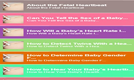Baby heartbeat sex think