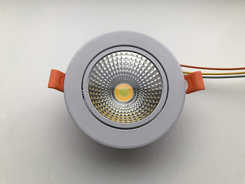 KNX Loxone FHEM comexio - Foco led (24 V, CCT, regulable, 10 W), color blanco