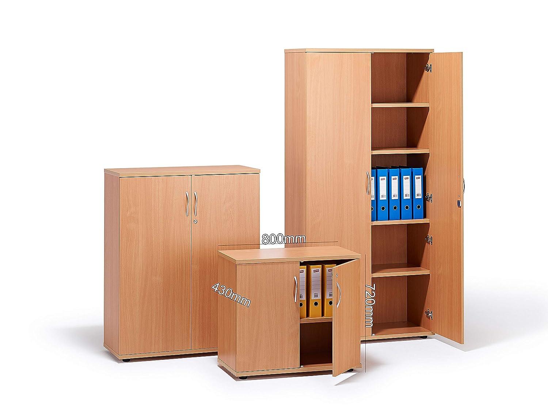 Beech Executive Office Cupboard
