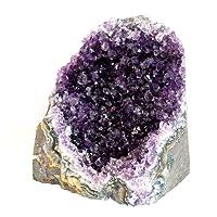 Reiki Healing Energy carica grande unico Raw Uruguaiano ametista cristallo pietra di 1489g