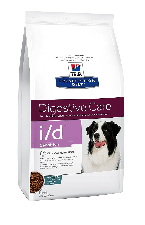 Hill's Prescription Diet Canine I/D Santé Digestive Sensibilité Nourriture pour Chien Croquettes 1, 5kg Œuf et Riz 5kg Œuf et Riz Hill' s 052742360706