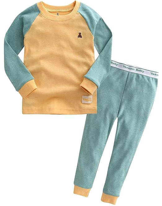 [Freeshipping] Vaenait baby 1 – 7 años 100% algodón pijama pijamas Set Simple