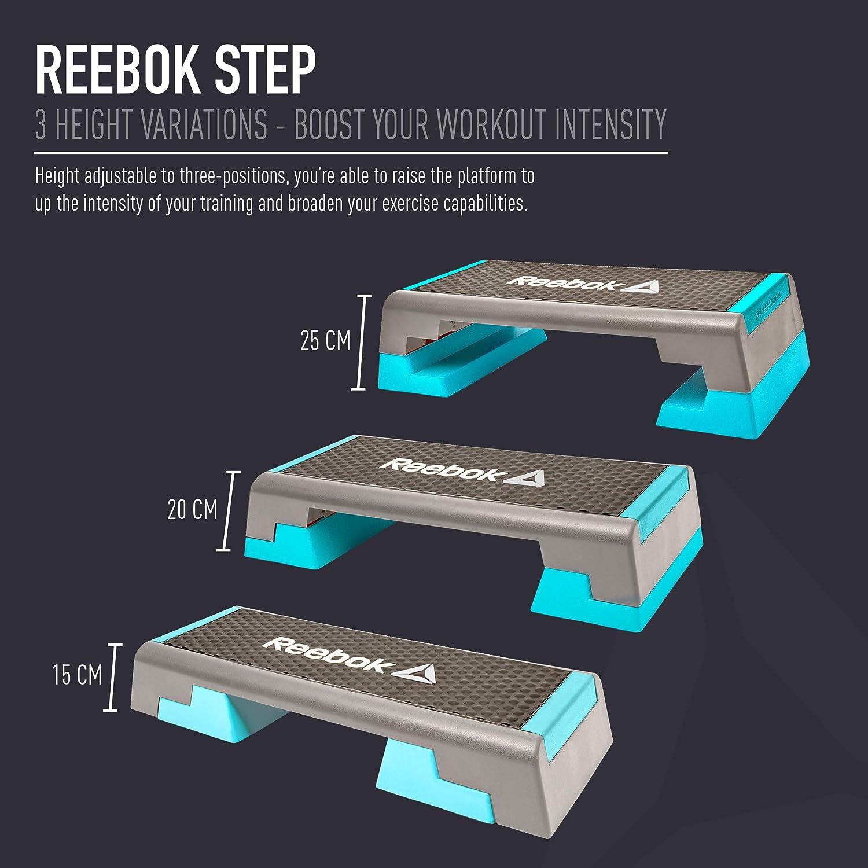 ellos junio Impresión  Buy Reebok RAP-11150BL Stepper (Blue) Online at Low Prices in India -  Amazon.in