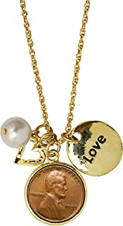 product image for American Coin Treasures Love & Charms Lincoln Penny Pendant Necklace