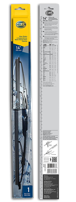 Amazon.com: HELLA 9XW398114014 Standard Wiper Blade, 14