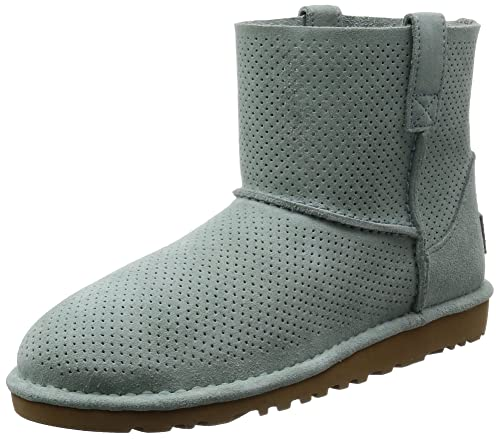 7467d6856e3 UGG Women's Classic Unlined Mini Perforated Spring Boot