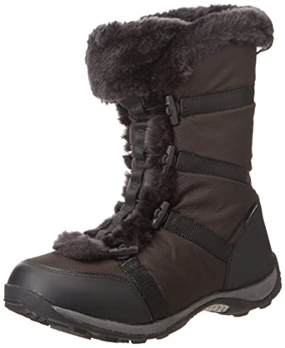 Women's Black Snow Boots US 7