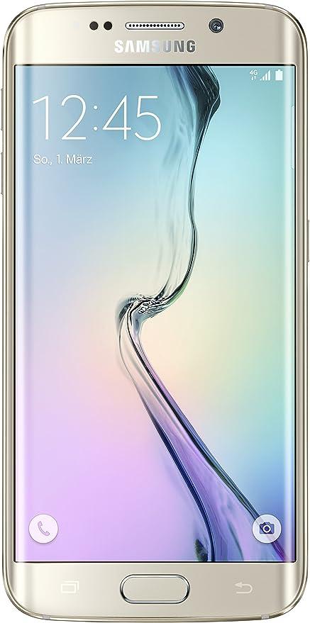 Samsung Galaxy S6 Edge Oro 32GB Smartphone Libre (Reacondicionado Certificado): Amazon.es: Electrónica