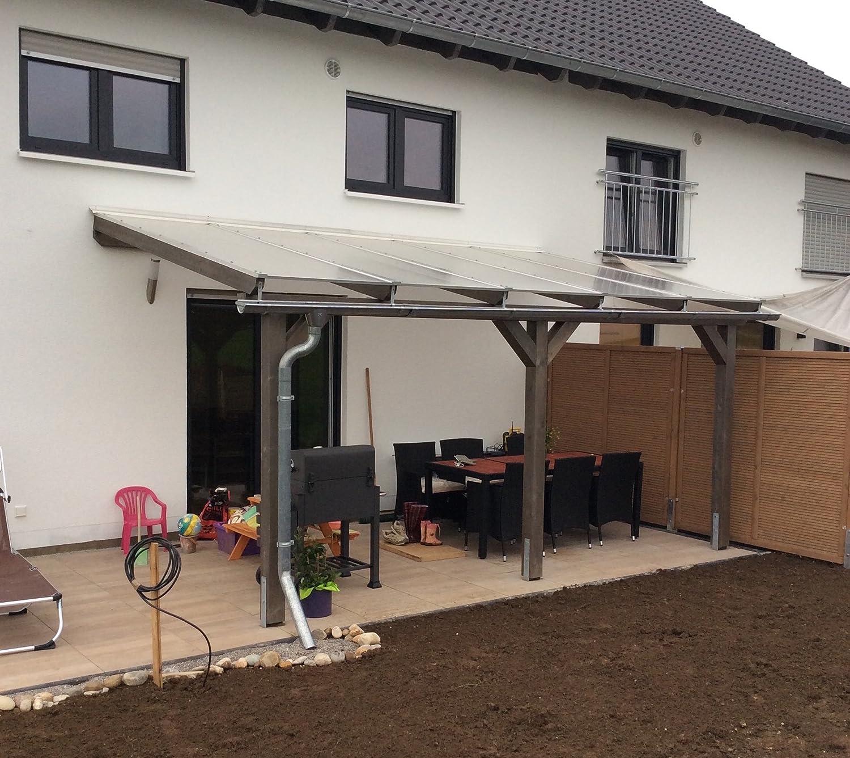 Luxbach GmbH Terrassenüberdachung 600 x 500 cm / 6x5 m ...