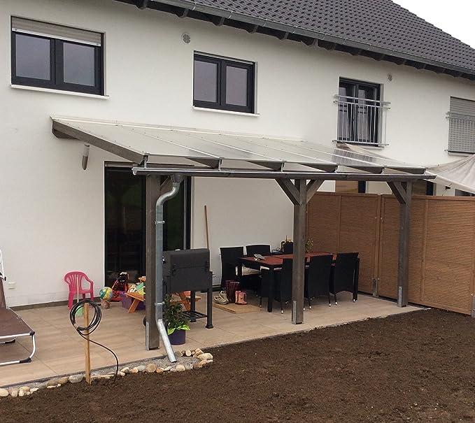 Luxbach GmbH - Cubierta para terraza, 600 x 400 cm / 6 x 4 m ...